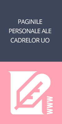 Site-urile personale ale cadrelor didactice UO